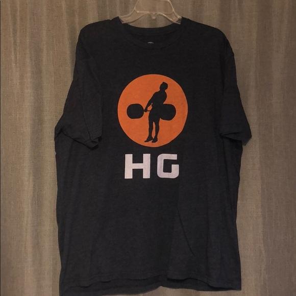 71666a8c0 Hook Grip Other - Hook grip weightlifting t-shirt.
